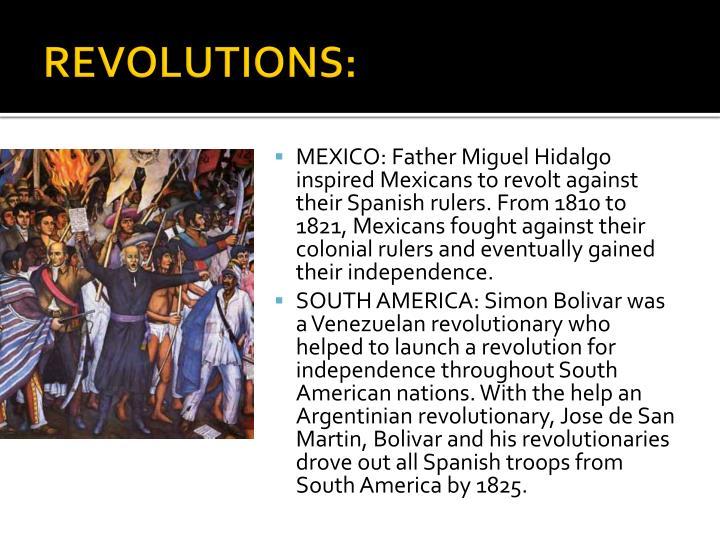 REVOLUTIONS:
