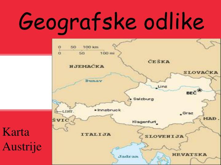 Geografske odlike
