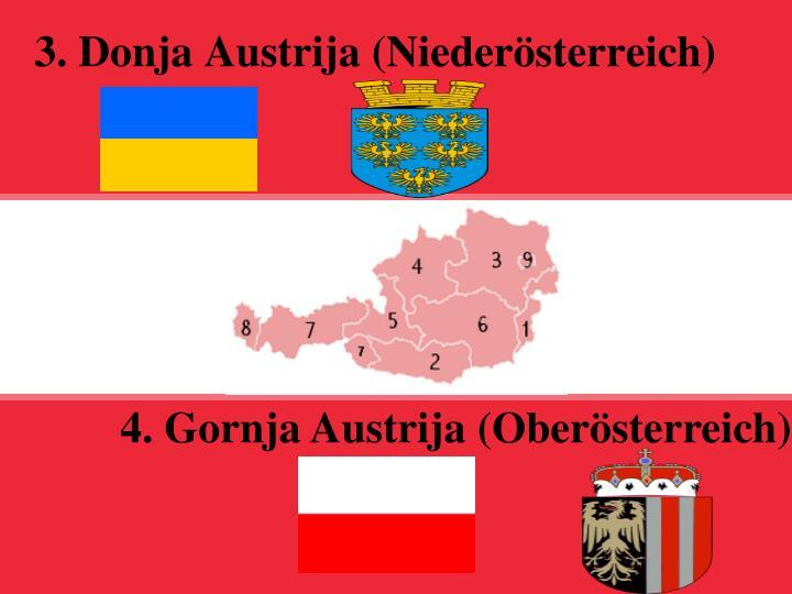 3. Donja Austrija (Niederösterreich)