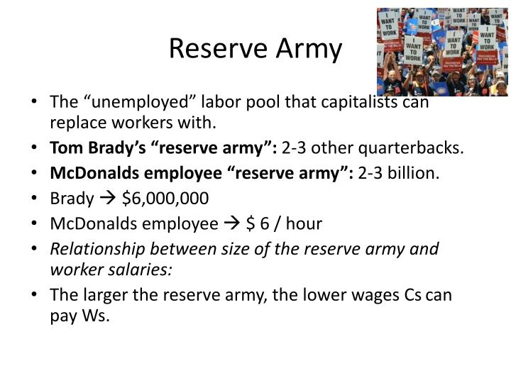 Reserve Army
