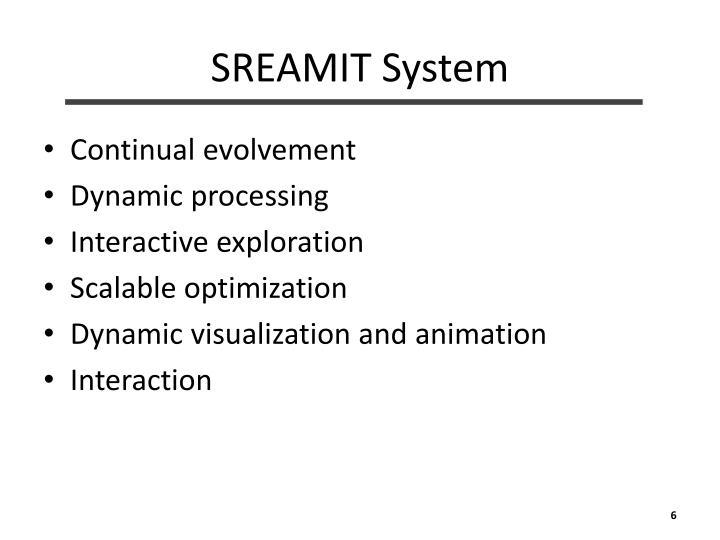 SREAMIT System