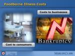 foodborne illness costs
