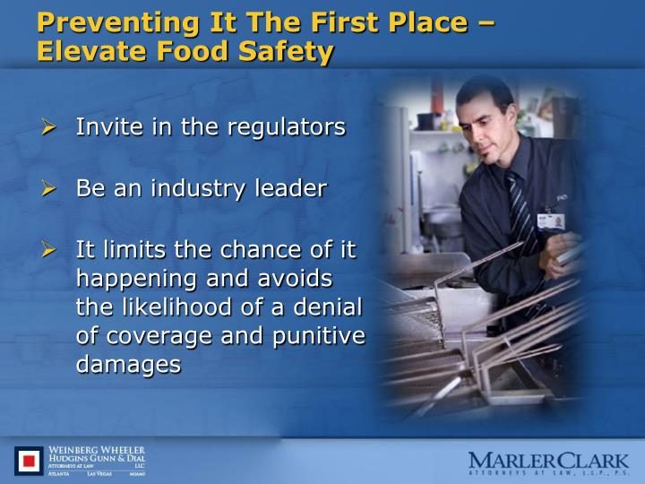 Preventing It The First Place – Elevate Food Safety