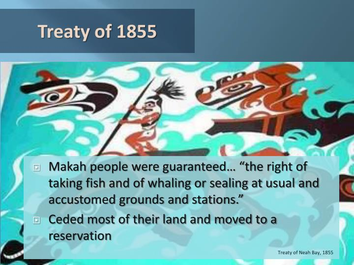 Treaty of 1855