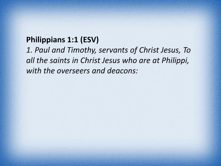 Philippians 1:1 (