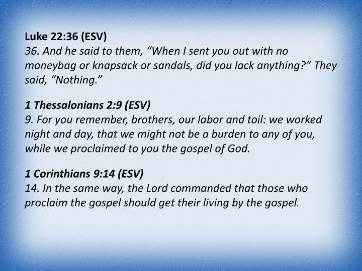 Luke 22:36 (