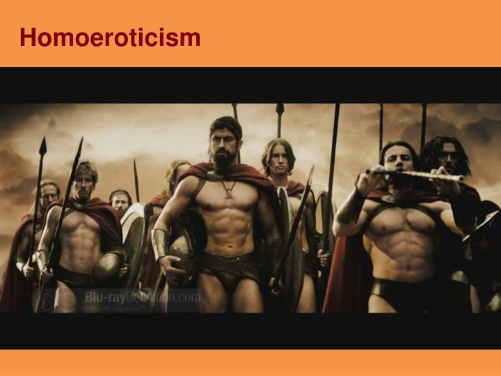 Homoeroticism