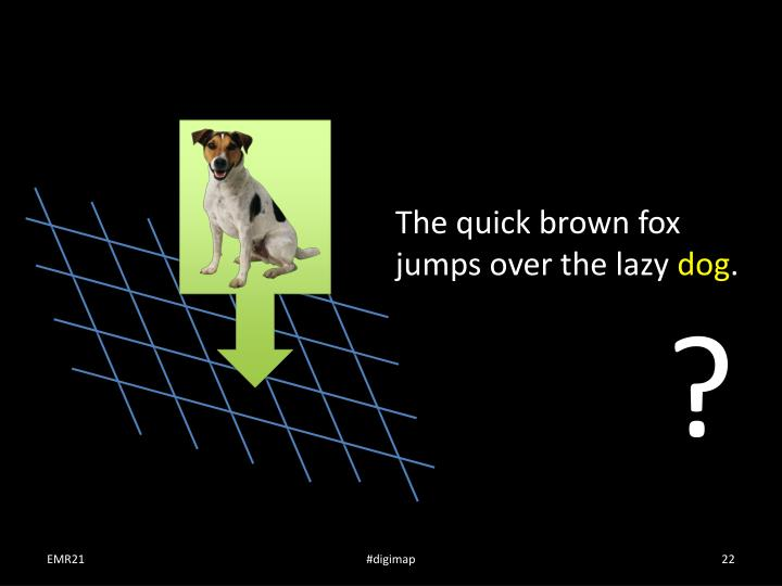 The quick brown fox jumps over the lazy