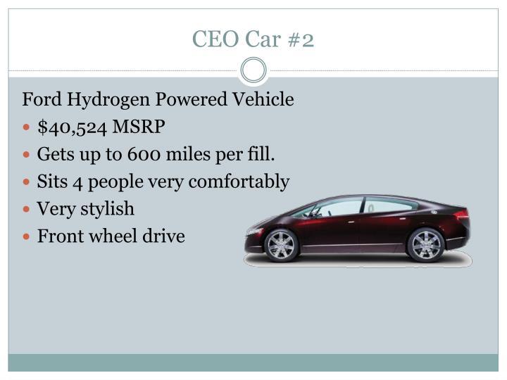 CEO Car #2