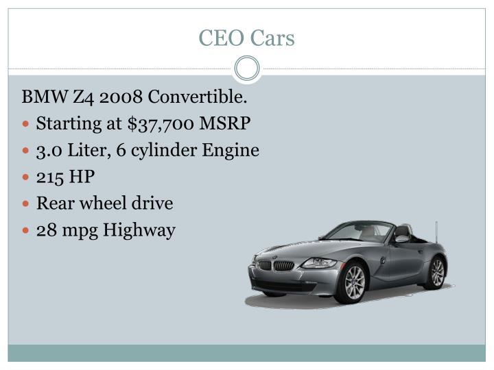 CEO Cars