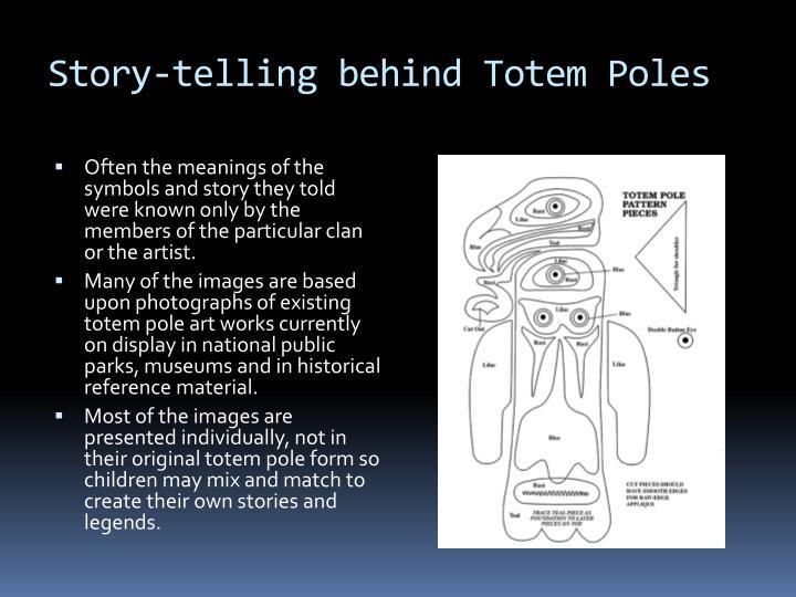 Story-telling behind Totem Poles
