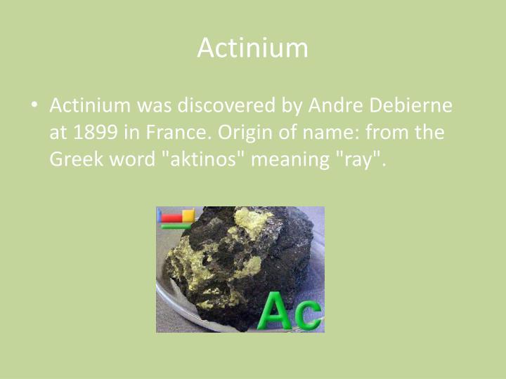 Actinium