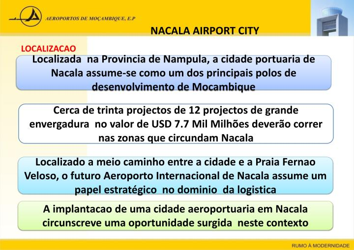 NACALA AIRPORT CITY
