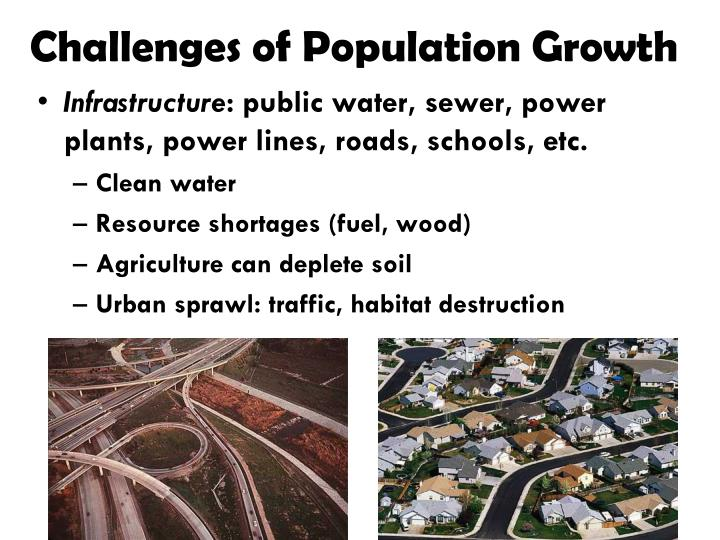 Challenges of Population Growth