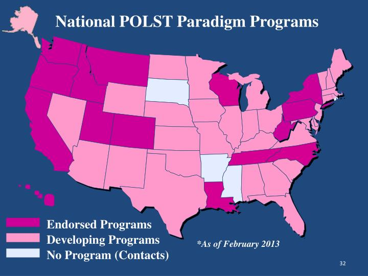 National POLST Paradigm Programs