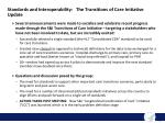 standards and interoperability the transitions of care initiative update