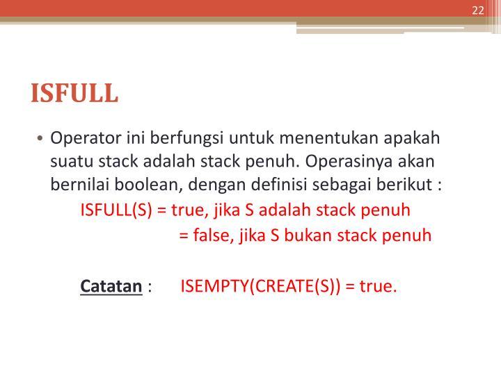 ISFULL