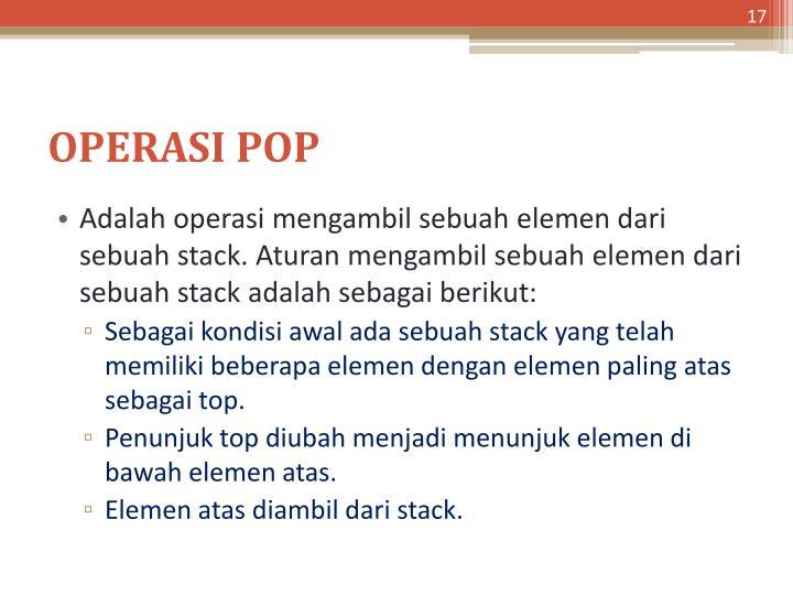 OPERASI POP