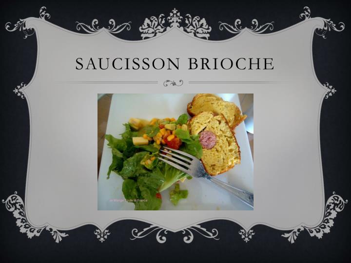 Saucisson