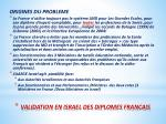 validation en israel des diplomes francais2