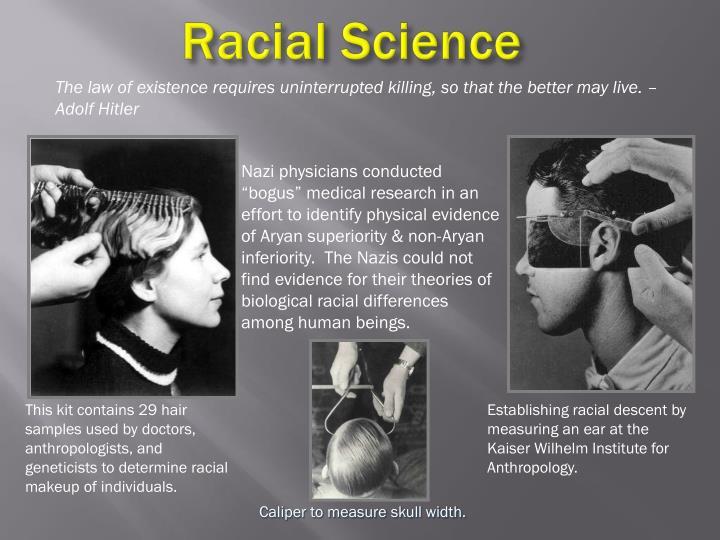 Racial Science