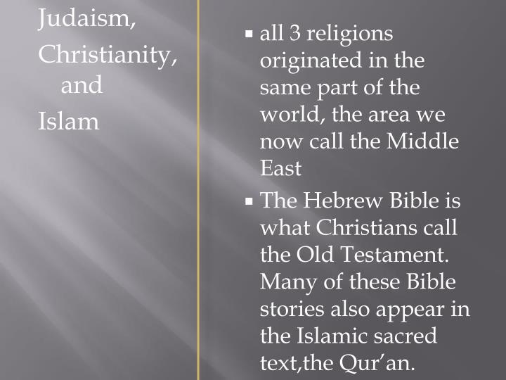Judaism,