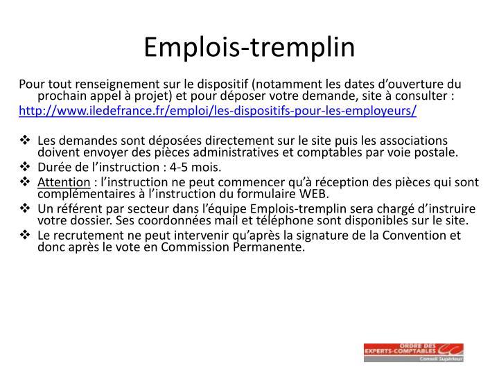 Emplois-tremplin