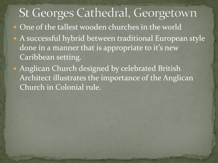 St Georges Cathedral, Georgetown