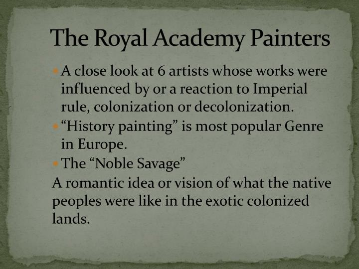 The Royal Academy Painters
