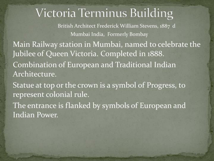 Victoria Terminus Building