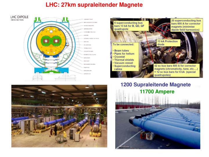 LHC: 27km
