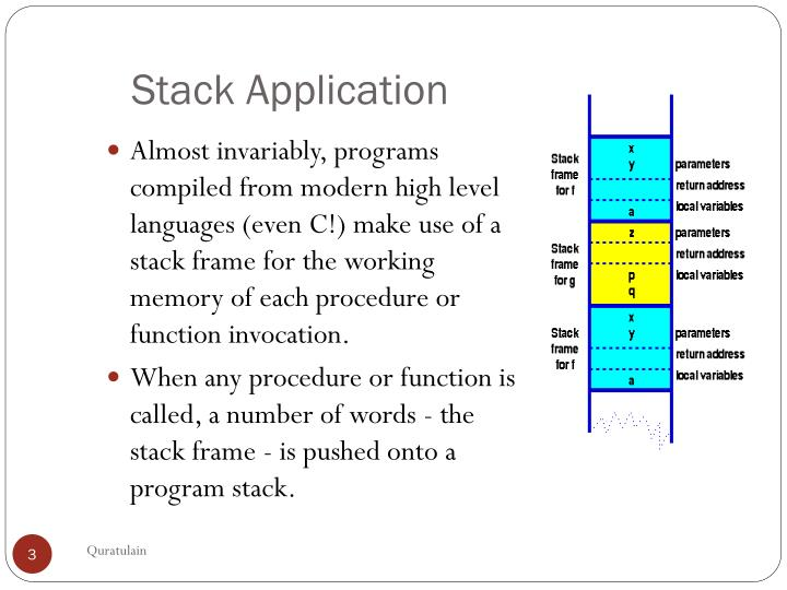 Stack application1