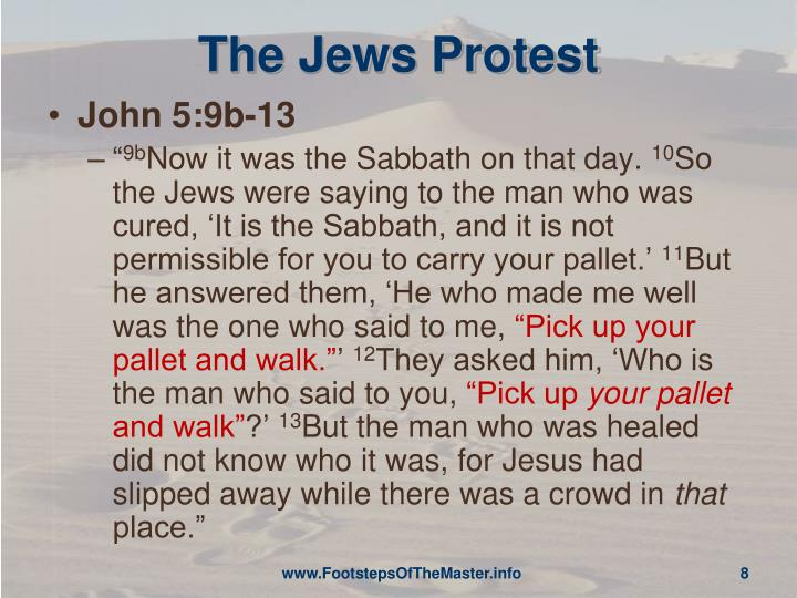 The Jews Protest