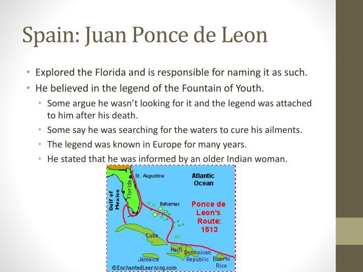 Spain: Juan Ponce de Leon