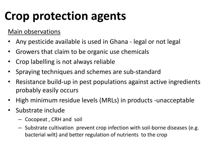 Crop protection agents