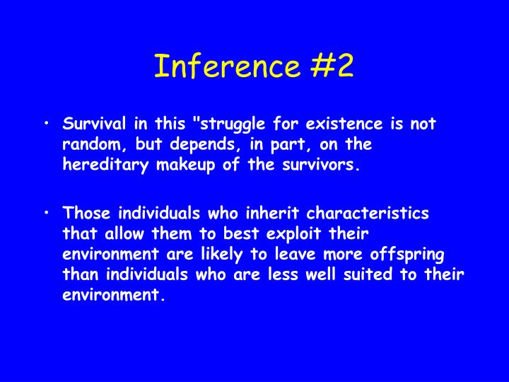 Inference #2