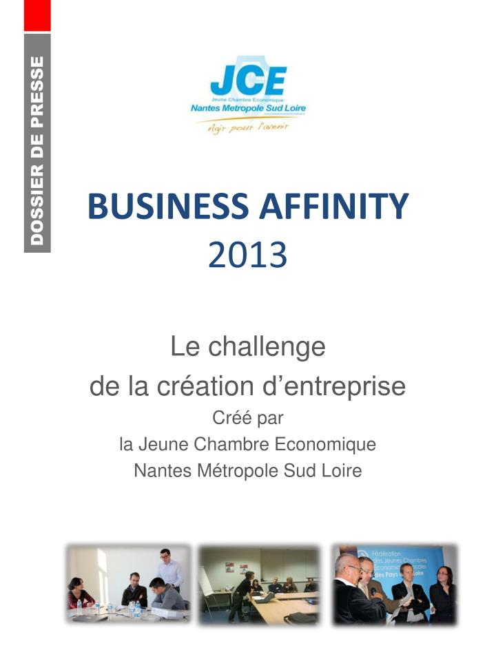 Business affinity 2013