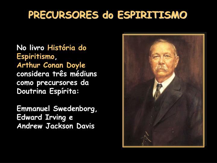 PRECURSORES do ESPIRITISMO