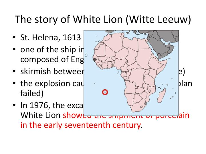 The story of White Lion (Witte