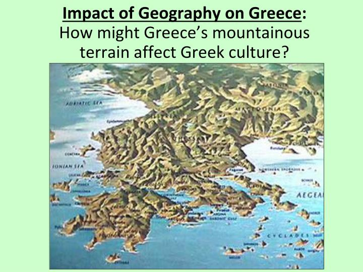 a history and geography of ancient greece Distance between city-states, clothing, trade, and democracy were amongst some of things that were influenced by the geography of ancient greece.