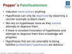 popper s falsificationism