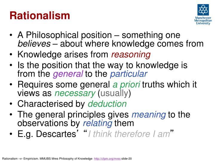Rationalism