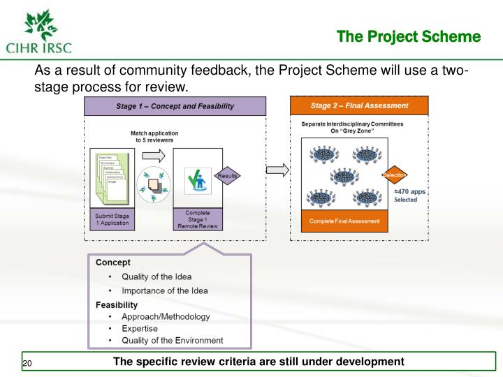 The Project Scheme