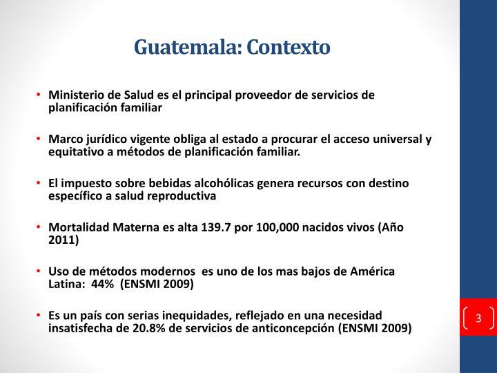 Guatemala: Contexto