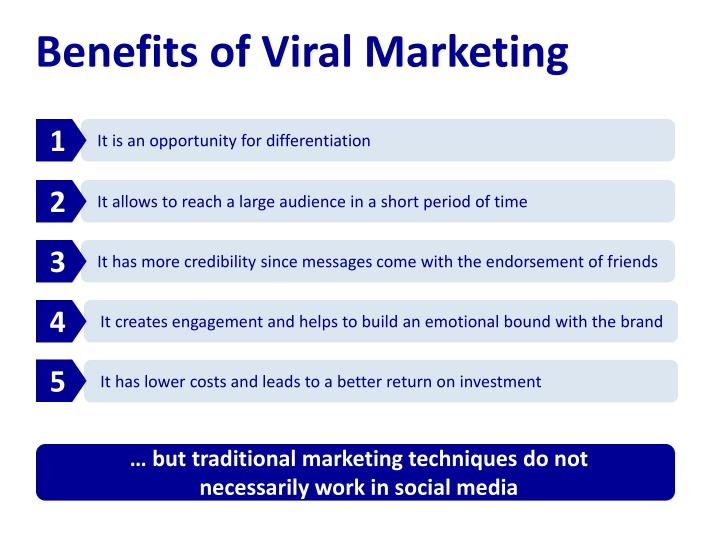 Benefits of Viral Marketing