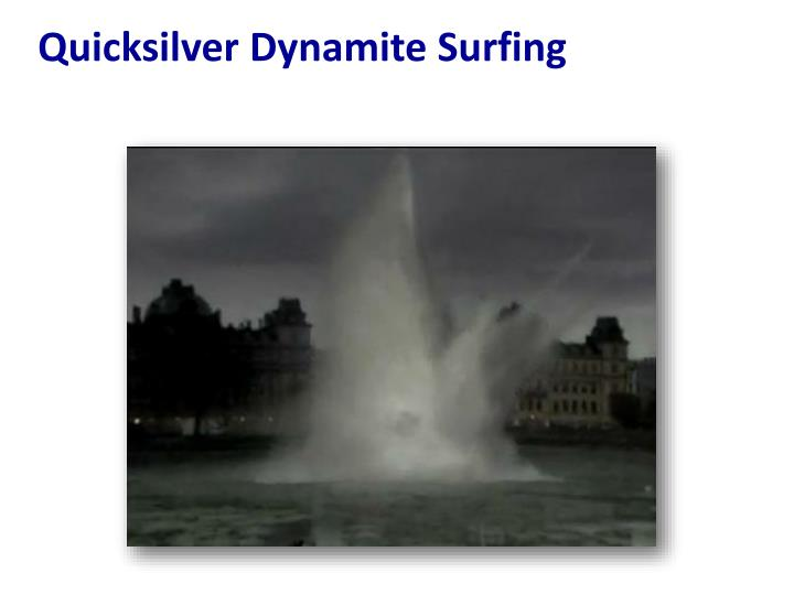 Quicksilver Dynamite Surfing