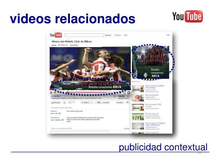 videos relacionados