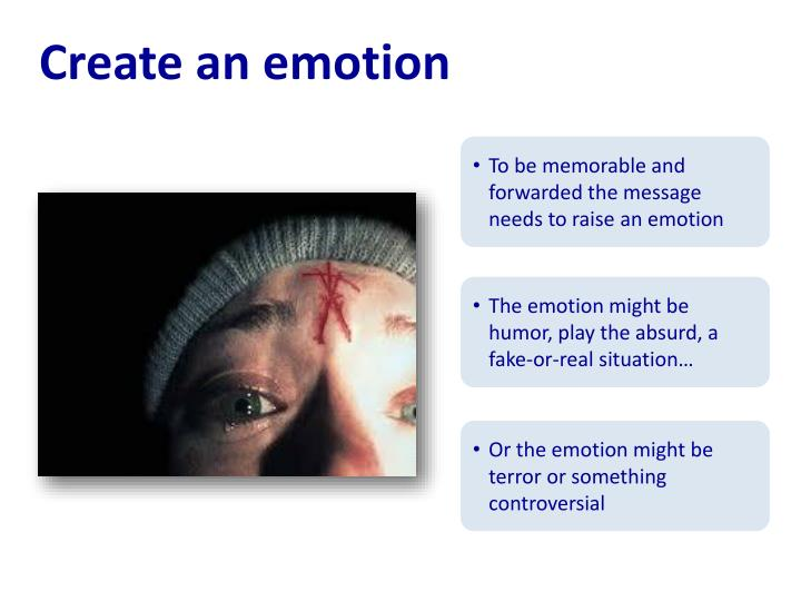 Create an emotion
