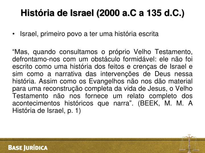 História de Israel (2000