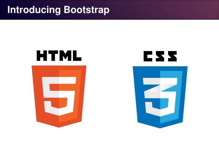 Introducing Bootstrap
